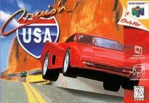 Cruis'n USA - North American Nintendo 64 cover art
