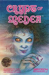 <i>Crypt of Medea</i> 1984 video game