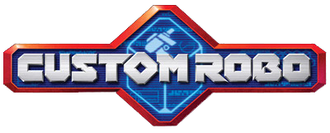Custom Robo - The logo of Custom Robo: Battle Revolution, the first Custom Robo game to be released internationally.