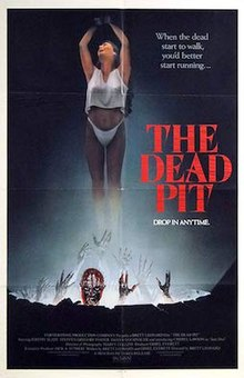DVD cover of the movie The Dead Pit.jpg