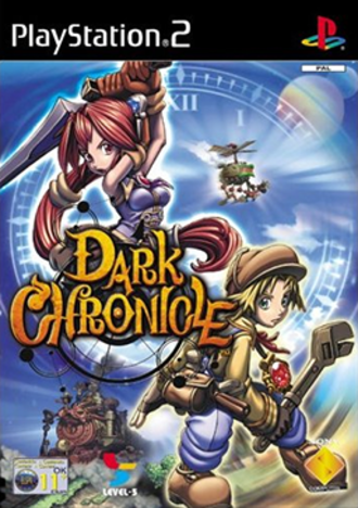Dark Chronicle - European cover art
