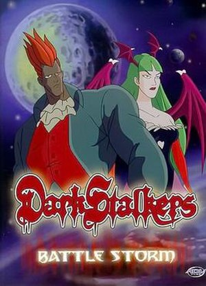 Darkstalkers (TV series) - A.D. Vision VHS cover art