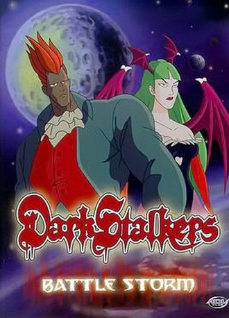 Darkstalkers (TV series) - A.D. Vision VHS cover art