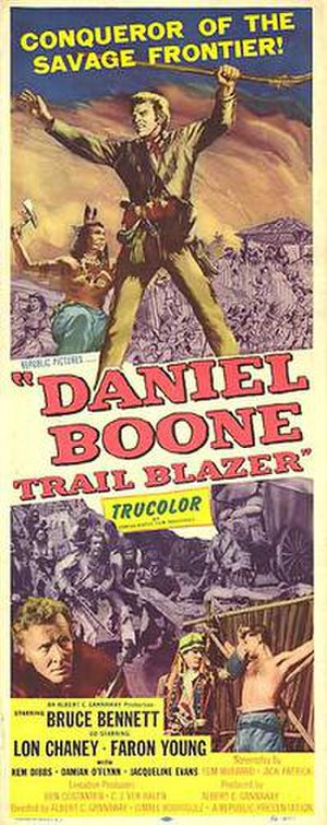 Daniel Boone, Trail Blazer - Original film poster