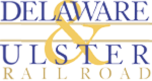 Delaware and Ulster Railroad - Image: Delaware and Ulster logo