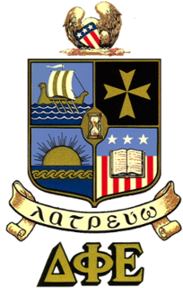 Delta Phi Epsilon (professional) male, foreign service college fraternity