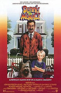 <i>Dennis the Menace</i> (film) 1993 live-action American family film directed by Nick Castle