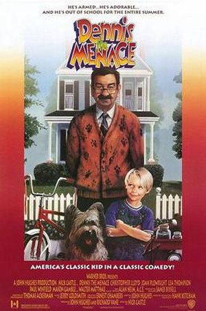 Dennis the Menace (film) - Theatrical release poster