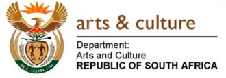 Department of Arts and Culture (South Africa) - Image: Department of Arts and Culture logo