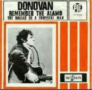 Remember the Alamo (song) - Image: Donovan Remember the Alamo single