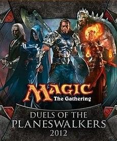 حصريا ترجمة تروفيز لعبة 2012 Magic: The Gathering – Duels of the Planeswalkers 230px-Duels_2012_title_card