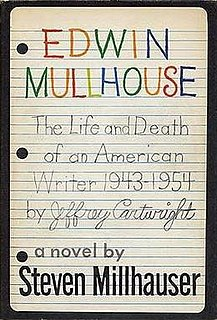 <i>Edwin Mullhouse</i> book by Steven Millhauser