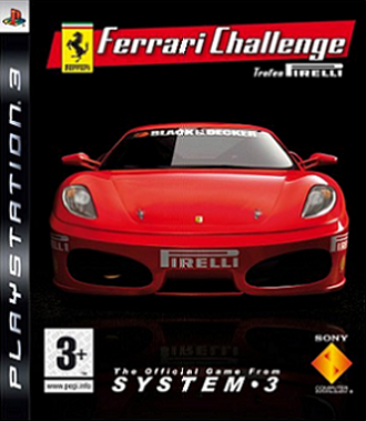Ferrari Challenge: Trofeo Pirelli - Ferrari Challenge box art