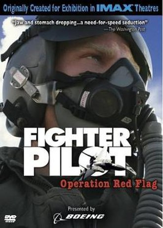 Fighter Pilot: Operation Red Flag - DVD cover