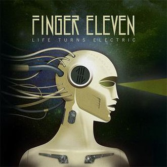 Life Turns Electric - Image: Finger Eleven Life Turns Electric Artwork