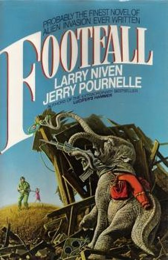 Footfall - Cover of first edition (hardcover)