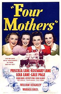 <i>Four Mothers</i> 1941 film by William Keighley