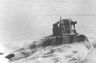 German submarine V-80 - Image: German v 80 midget submarine