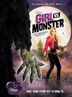 Girl vs. Monster - Promotional poster
