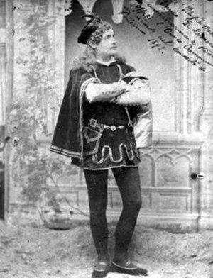 Giuseppe Cremonini - Giuseppe Cremonini photographed in Mantua circa 1890