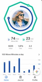 Google Fit Health-tracking platform by Google