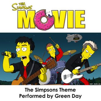 The Simpsons Theme - Image: Green Day The Simpsons Theme cover