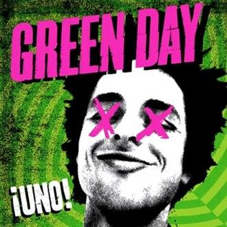 ¡Uno! - Image: Green Day Uno! cover