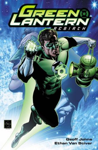 Green Lantern: Rebirth - Cover of Green Lantern: Rebirth hardcover collection. Art by Ethan Van Sciver.