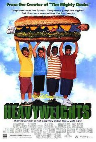 Heavyweights - Theatrical release poster