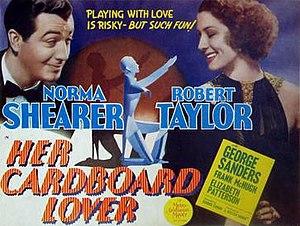 Her Cardboard Lover - Lobby card