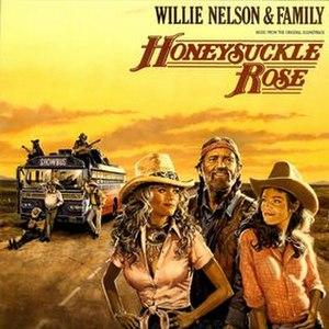 Honeysuckle Rose (album) - Image: Honeysuckle Rose Willie Nelson