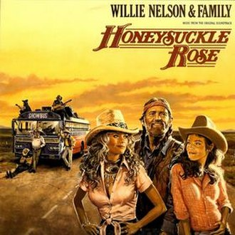 Honeysuckle Rose (album) - Image: Honeysuckle Rose Willie Nelson