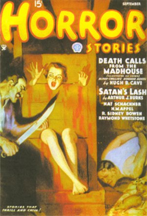 Horror fiction magazine - Horror Stories magazine
