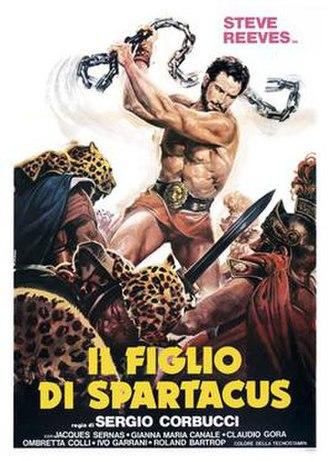 The Slave (1962 film) - Image: Il figlio di spartacus italian movie poster md