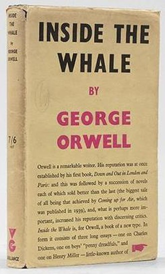 Inside the Whale and Other Essays - First edition