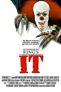 <i>It</i> (miniseries) 1990 psychological horror/drama miniseries directed by Tommy Lee Wallace