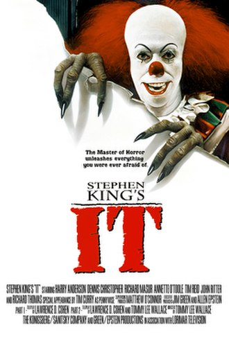 It (miniseries) - Image: It 1990 Promotional Poster