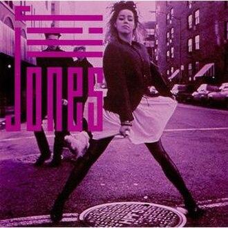 Jill Jones (album) - Image: Jill Jones, cover album, US, 1987