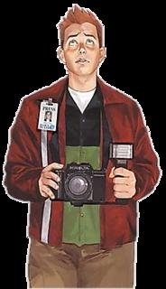 Jimmy Olsen DC comic book universe character