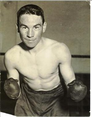 "Sport in Ireland - Jimmy McLarnin, the ""Baby Faced Assassin""; two time Welterweight World Champion from County Down."