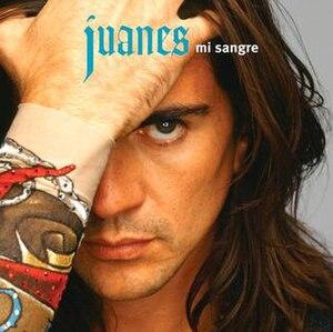 Mi Sangre - Image: Juanes Mi Sangre 600x 600