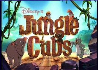 Jungle Cubs - Disney's Jungle Cubs title card from Season 1