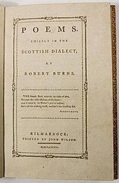 Robert Burns - Wikipedia