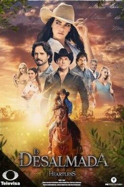 <i>La desalmada</i> Mexican telenovela