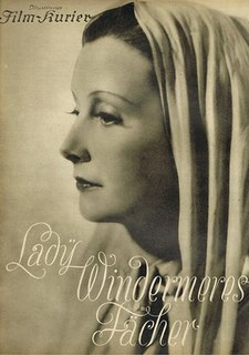 <i>Lady Windermeres Fan</i> (1935 film) 1935 film