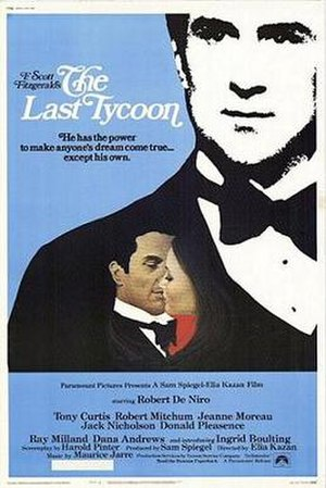 The Last Tycoon (1976 film) - Theatrical release poster by Richard Amsel