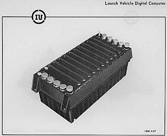 Saturn Launch Vehicle Digital Computer - LVDC from Instrument Unit technical manual