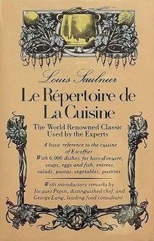 <i>Le Répertoire de la Cuisine</i> book by Théophile Gringoire