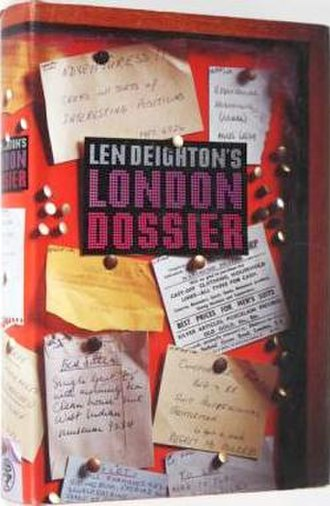 Len Deighton's London Dossier - First edition hardcover