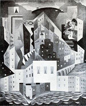 Léopold Survage - Léopold Survage, La Ville (Stadt)